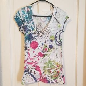 Maurices multi-colored top